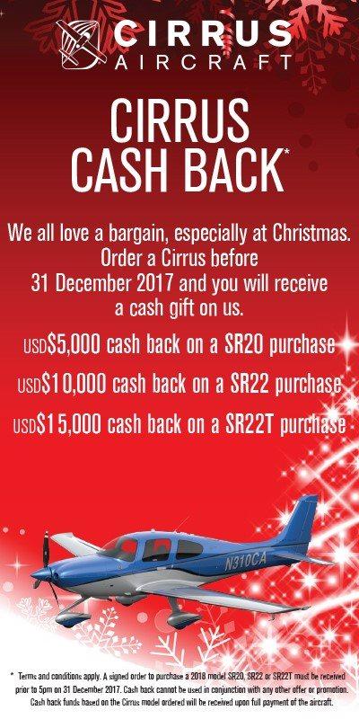 Cirrus Cashback Dec 2017