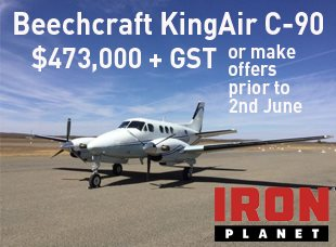 Iron Planet King Air Auction
