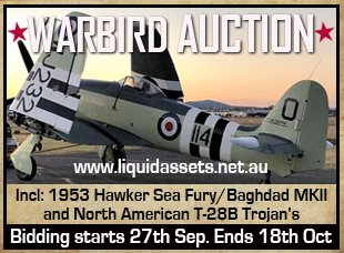 Warbird Auction Oct 2018